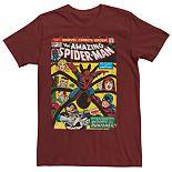 Men's Marvel Spider-Man Return Of The Punisher Comic Tee