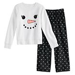 Girls' 4-14 and Plus Size SO® Seasonal Cozy Sherpa Pajama Set