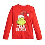 Boys 8-20 Family Fun? The Grinch Christmas Graphic Tee