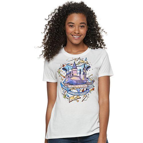 Juniors' Harry Potter Hogwarts Castle Tee