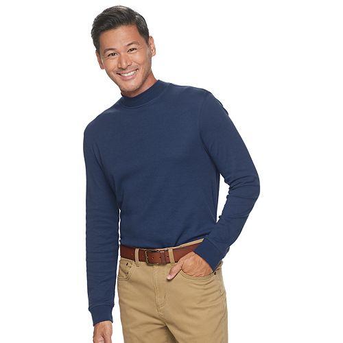 Men's Croft & Barrow® Extra Soft Easy Care Mock Neck Top