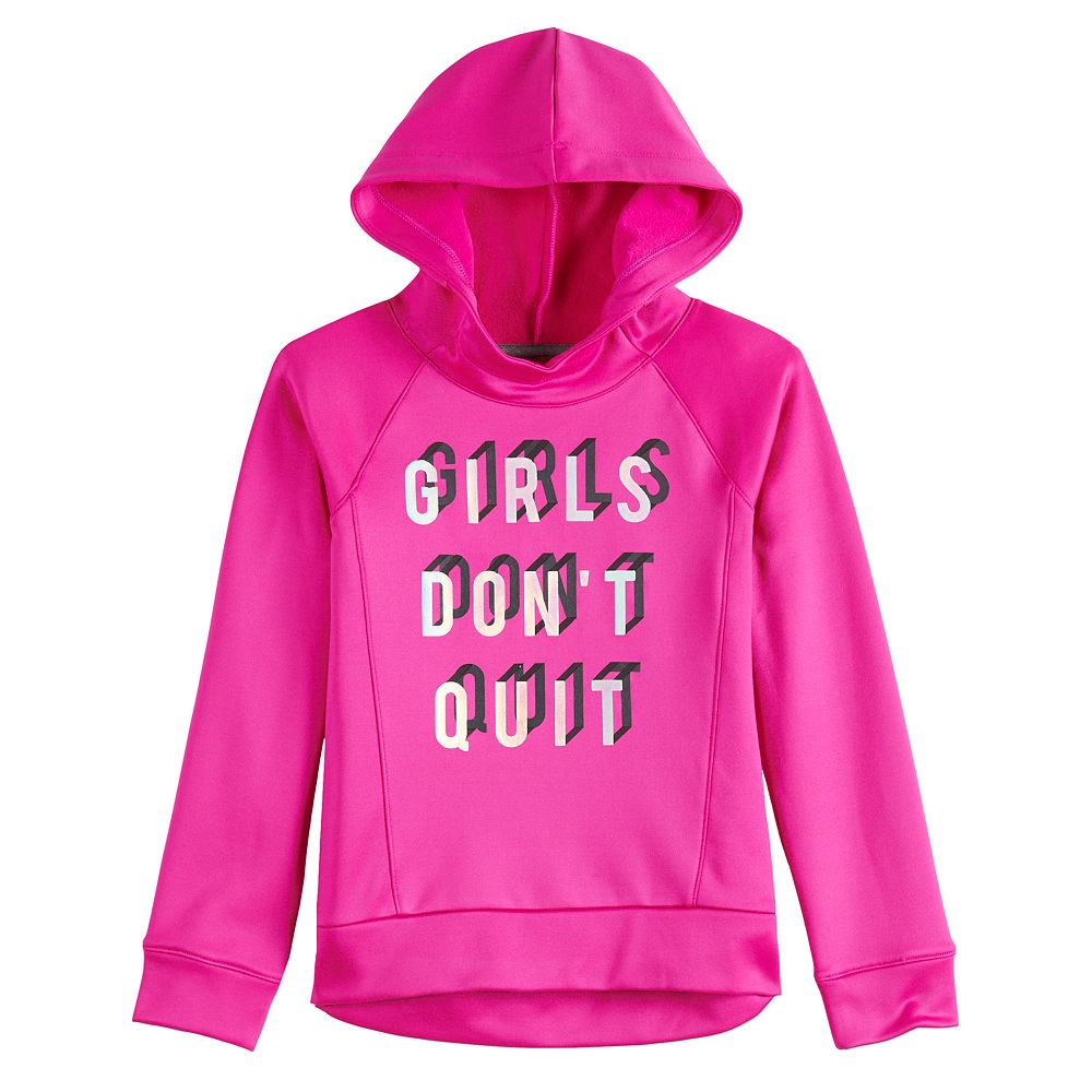 Girls 4-12 Jumping Beans® Graphic Fleece Hoodie
