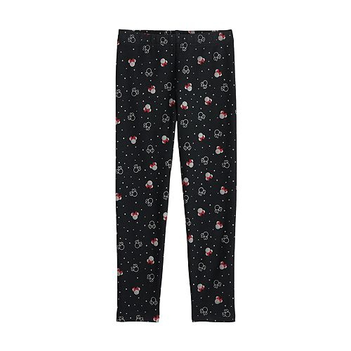 Disney's Minnie Mouse Girls 4-12 Fleece-Lined Leggings by Jumping Beans®
