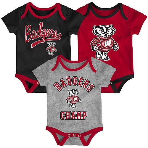 Baby Miami Hurricanes Champ 3-Pack Bodysuit Set