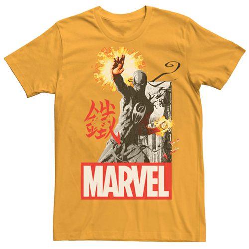 Men's Marvel Iron Fist Glow Stance Tee