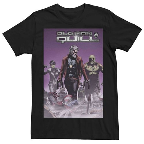 Men's Marvel Old Man Quill #2 Comic Cover Tee