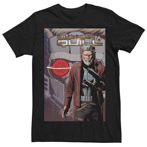 Men's Marvel Old Man Quill #1 Comic Cover Tee