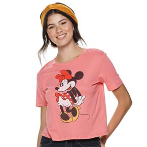 Juniors' Disney Minnie Mouse Graphic Tee
