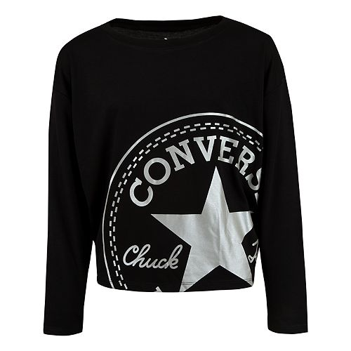 Girls 7-16 Converse Chuck Patch Graphic Tee