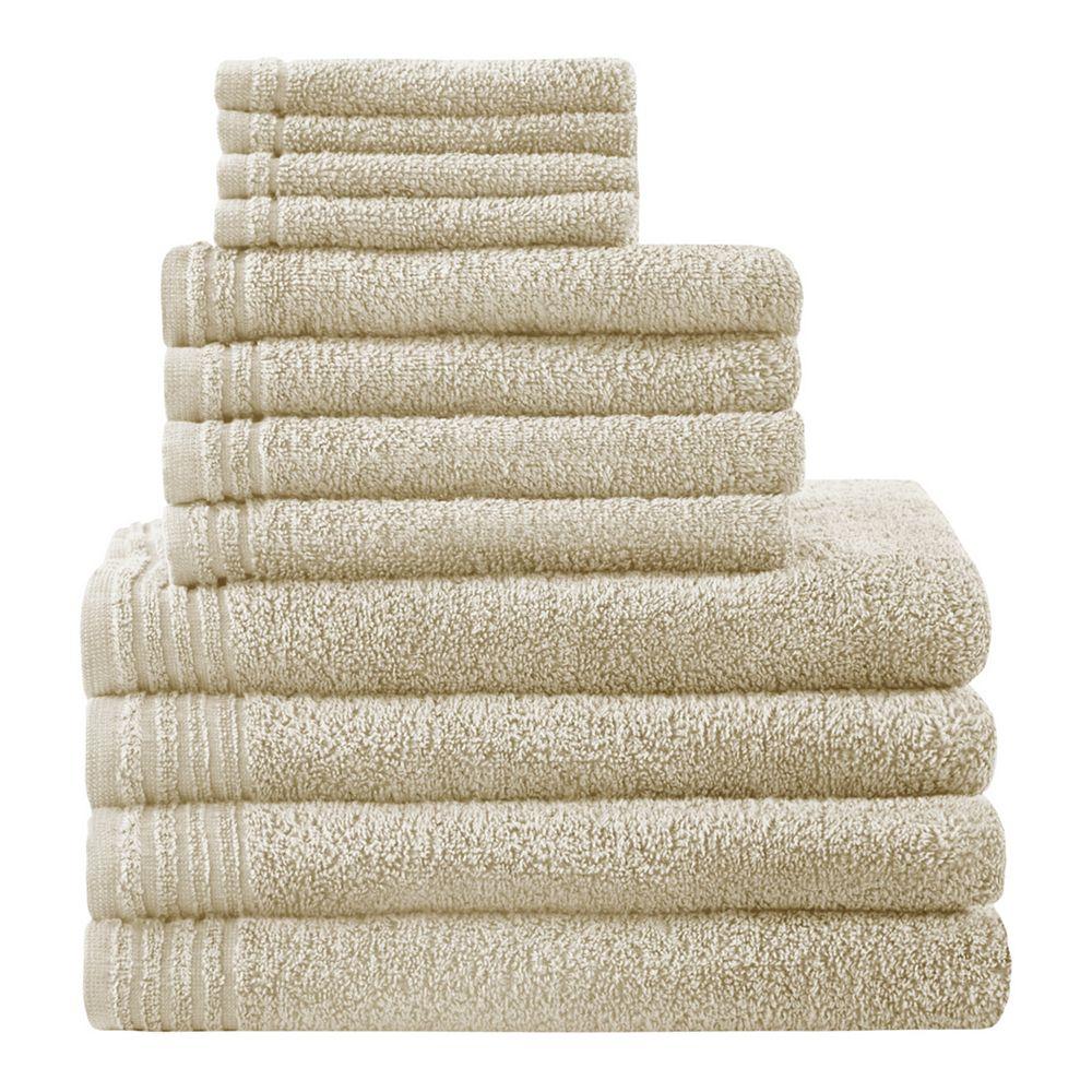 510 Design 12-piece Big Bundle Cotton Bath Towel Set