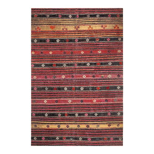 Safavieh Rust/Multi Montage Addilyn Rug