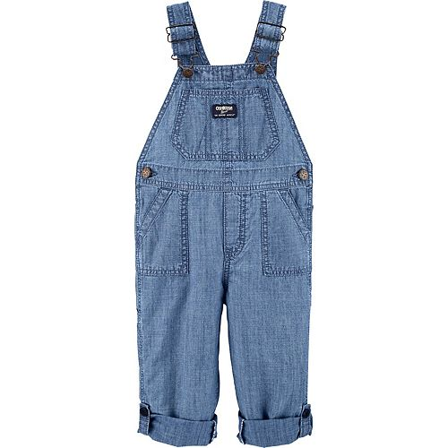 Baby Boy OshKosh B'gosh® Convertible Chambray Overalls