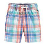 Baby Boy OshKosh B'gosh® Plaid Pull-On Shorts