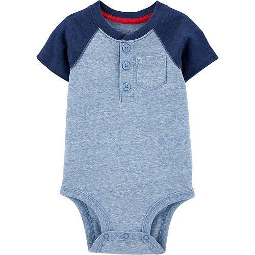 Baby Boy OshKosh B'gosh® Colorblock Pocket Bodysuit
