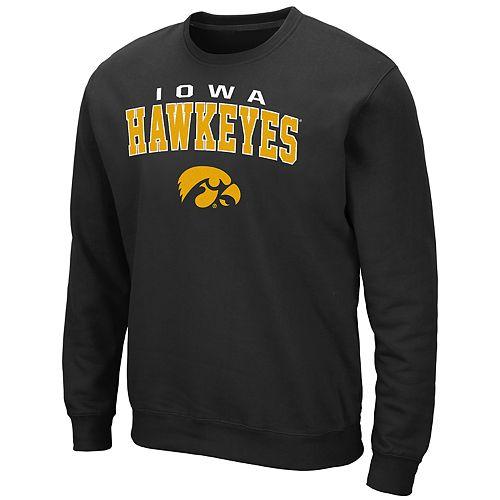Men's Iowa Hawkeyes Crewneck Fleece