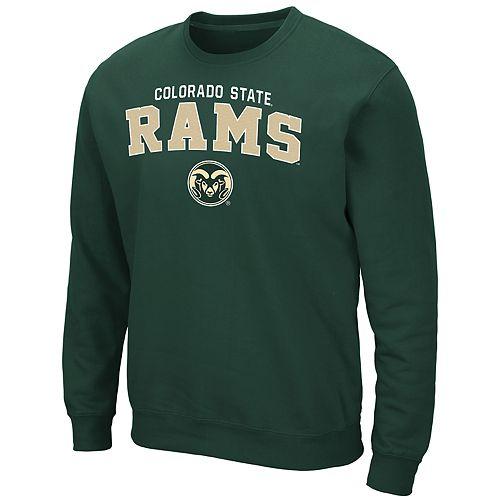 Men's Colorado State Rams Crewneck Fleece