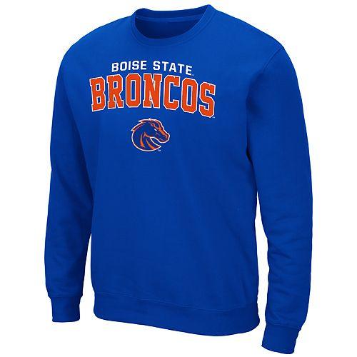 Men's Boise State Broncos Crewneck Fleece