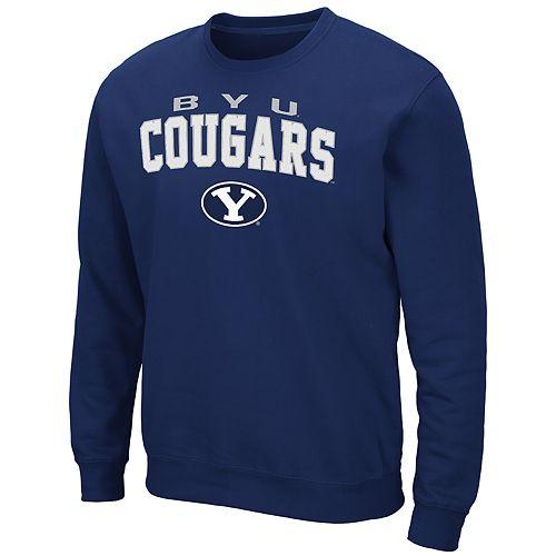 Men's BYU Cougars Crewneck Fleece