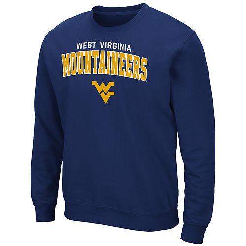 Men's West Virginia Mountaineers Crewneck Fleece