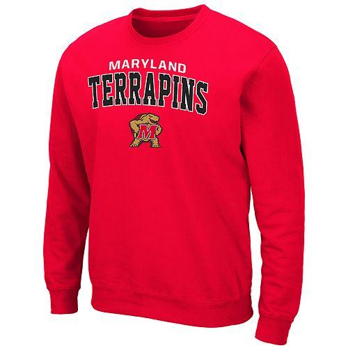 Men's Maryland Terrapins Crewneck Fleece