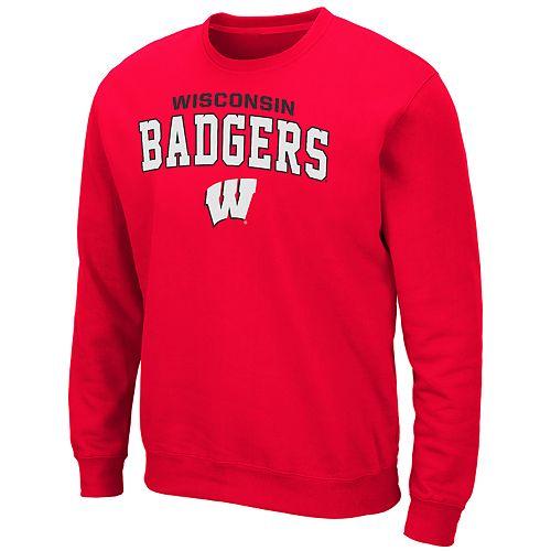 Men's Wisconsin Badgers Crewneck Fleece