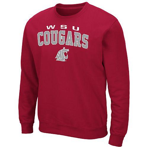 Men's WSU Cougars Crewneck Fleece