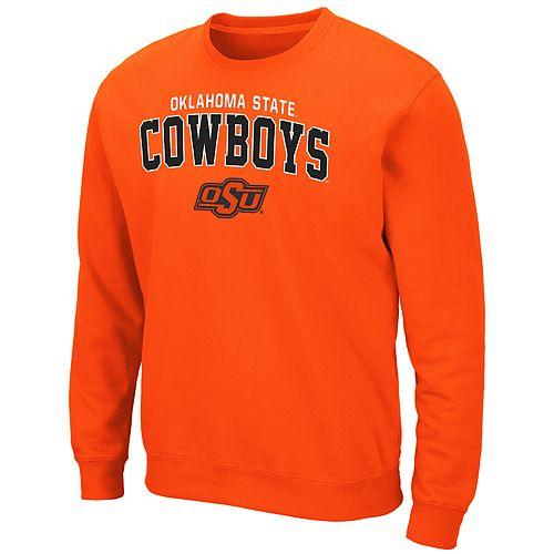 Men's Oklahoma State Cowboys Crewneck Fleece