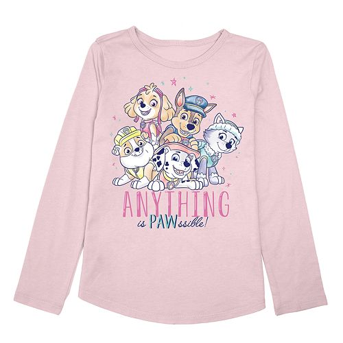 """Toddler Girl Jumping Beans® Paw Patrol """"Anything is Pawssible"""" Graphic Tee"""