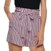Juniors' Joe B High-Waisted Shorts