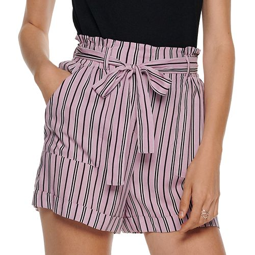 Juniors' Joe B High-Waisted Shorts