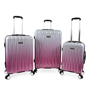 Juicy Couture Lindsay 3-Piece Hardside Spinner Luggage Set