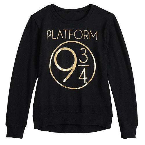 "Girls' 7-16 Harry Potter ""Platform 9 3/4"" Pullover"