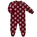 Baby Texas A&M Aggies Footed Bodysuit