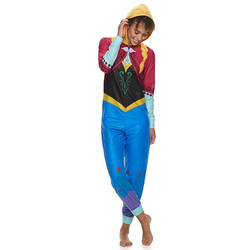 Disney's Frozen Women's Anna One-Piece Pajamas by Jammies For Your Families