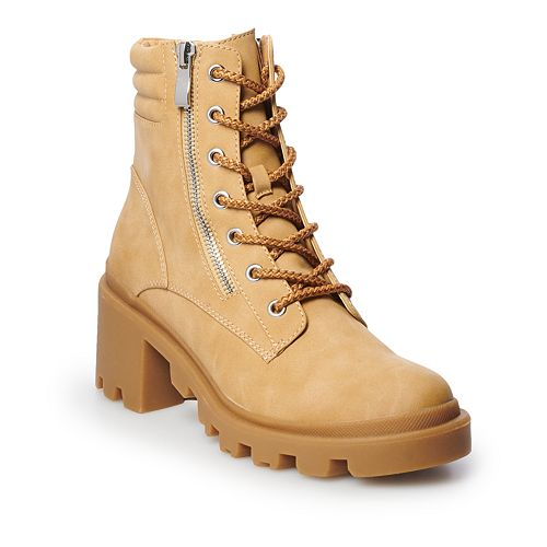 madden NYC Dalle Women's Combat Boots