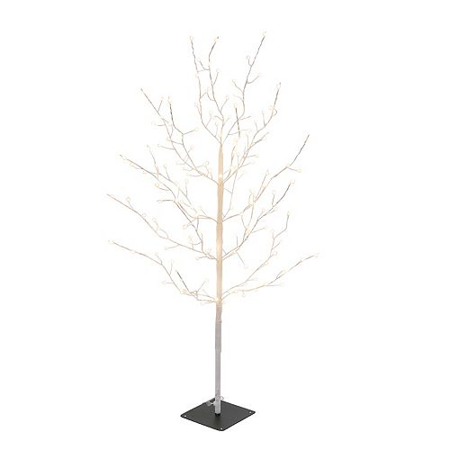 Sterling 47.2-Inch High Electric Tree with Warm White Micro LED Lights
