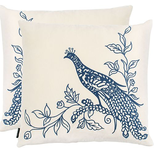 Safavieh Loving Pair 2-pack Throw Pillow Set