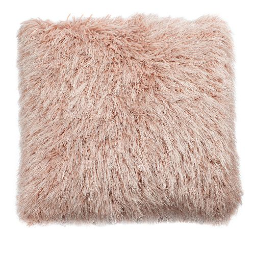 Safavieh Shag Metallic Throw Pillow