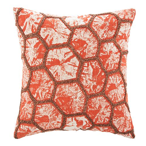 Safavieh Falla Geometric Throw Pillow