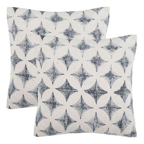 Safavieh Kalen 2-pack Throw Pillow Set