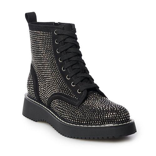 madden NYC Keen Women's Combat Boots