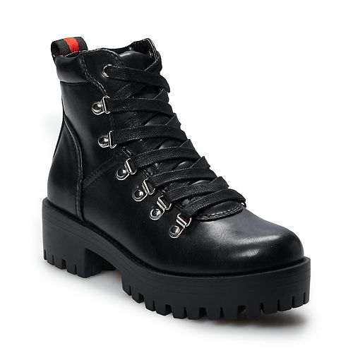 madden NYC Barclay Women's Combat Boots