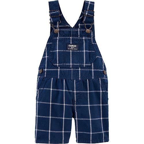 OshKosh BGosh Baby Boys Logo Fleece Pants 6 Months Blue