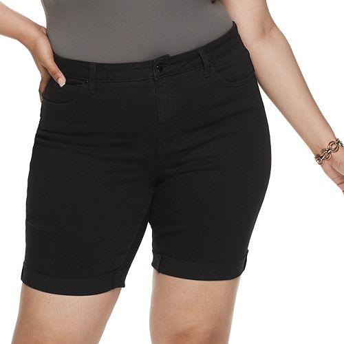 Plus Size Jennifer Lopez Rockin Bermuda Shorts
