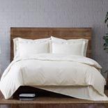 Brooklyn Loom Classic Cotton Duvet Cover Set