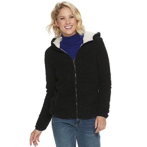 Women's Halitech Textured Hooded Fleece Jacket