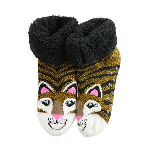 Juniors' SO® Cozy Slipper Socks