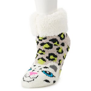 Juniors' SO® Cozy Slipper Socks