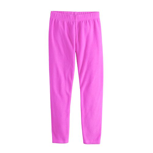 Girls 4-12 Jumping Beans® Microfleece Leggings