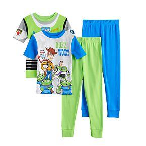 Disney / Pixar's Toy Story 4 Boys 4-10 The Gang Tops & Bottoms Pajama Set
